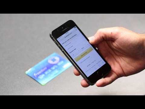Scan your credit card in iOS 8 for faster purchases