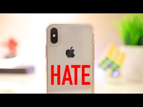 iPhone X Review 3 Month later - 5 things I Hate in 2018