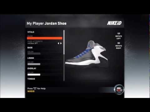NBA 2K12 My Player: Jordan Shoe Endorsement + Commericial