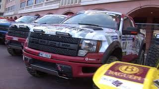 Rally Raid Monaco Dakar 2018 parco partenza