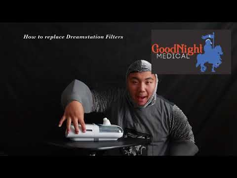 How To Replace Your Philips Dreamstation Filters - GoodNight Medical