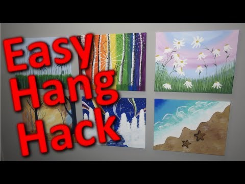 How to Make a Picture Hanging Tool