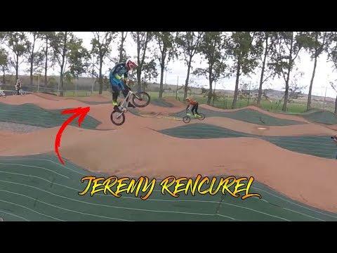 BMX RACE // riding with JEREMY RENCUREL [DN1 Lempdes]