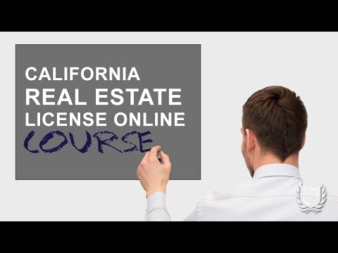 California Real Estate License Online Course