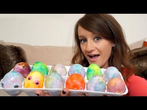 The Weirdest Way To Dye Easter Eggs