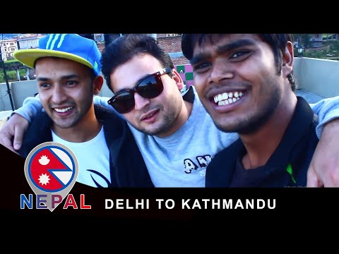 DELHI TO KATHMANDU - TRAVEL, PEOPLE, TEMPLE & REUNION (After 7 Years)
