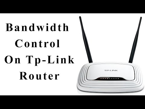 How to Control Bandwidth on Tp- link Roter