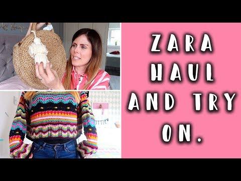 ZARA HAUL & TRY ON // Spring 2018