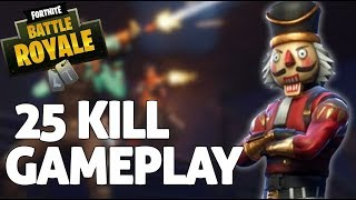 INSANE 25 Kill Solo Squad Gameplay! - Fortnite Gameplay - Ninja