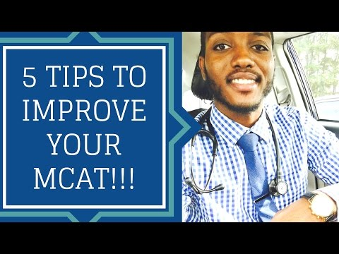 OvercomingTheOdds : 5 TIPS TO IMPROVE YOUR MCAT SCORE