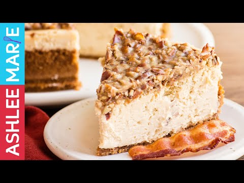How to make the perfect cheesecake - update - create any flavor - maple bacon cheesecake recipe