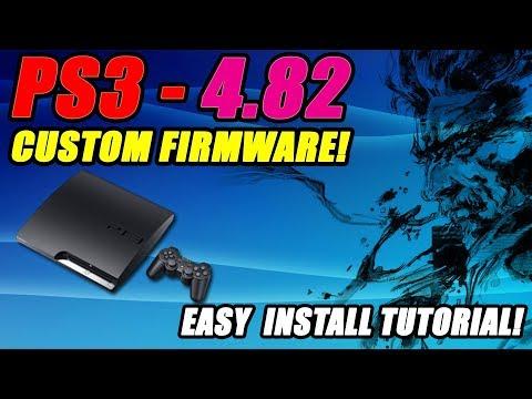 PS3 Install Custom Firmware On 4.82! Easy Install Tutorial! Ferrox!