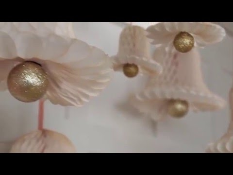 Holiday Decorations: Make Easy, Glittery Paper Bells