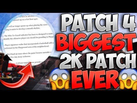 Patch 4 is the BIGGEST Patch in 2K HISTORY!! Yeezys and ZO2s in NBA 2K18!? | PeterMc