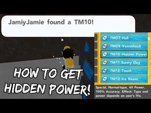 Pokemon Brick Bronze - HOW TO GET HIDDEN POWER!