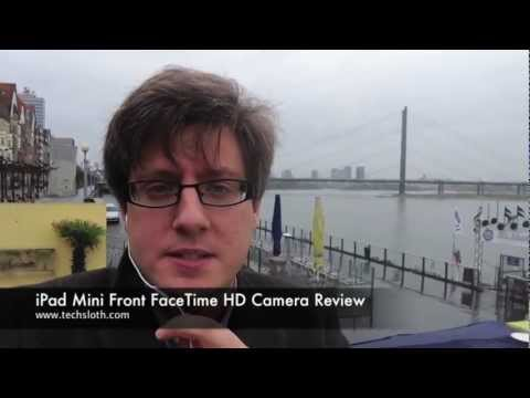 iPad Mini Front FaceTime HD Camera Test