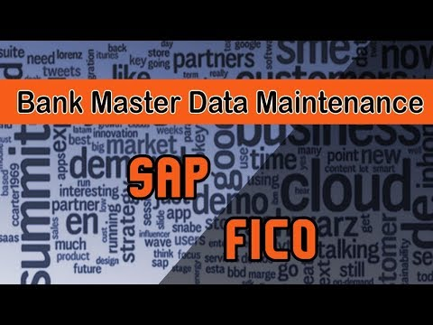 Sap FICO | Cash Management | Bank Master Data Maintenance | Manual Bank Statement | Petty Cash