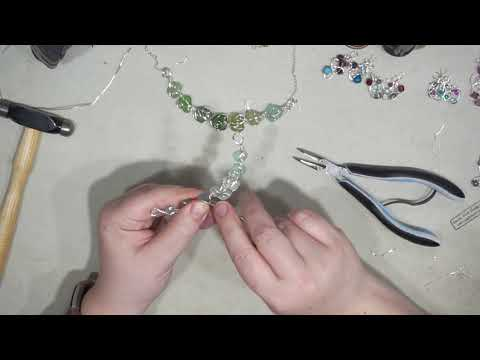 Spy on Me: Making Sea Glass Necklace from my Book!
