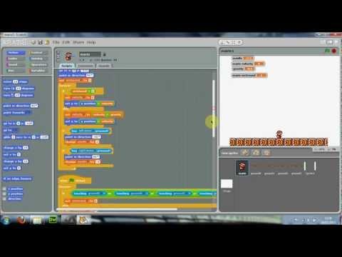 Scratch - Mario Tutorial Part 2