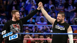 Top 10 Smackdown Live Moments Wwe Top 10 October 10 2017
