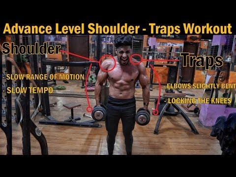 Advance Level Shoulder and Traps Workout | Big Shoulder Exercise