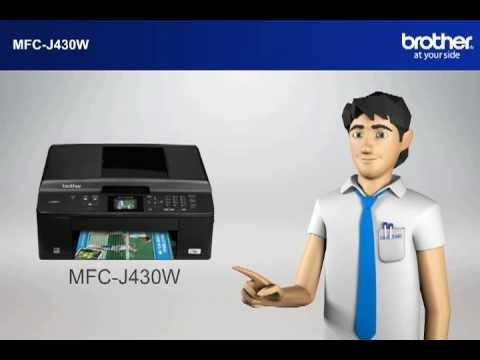 MFC-J430W How to setup my Wireless Brother MFC with a router that uses security for Win7?