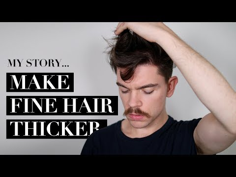 The Best Products For Fine Hair | Make Your Hair Thicker!