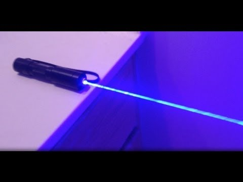 DIY: How to Build a 1W Blue Laser!