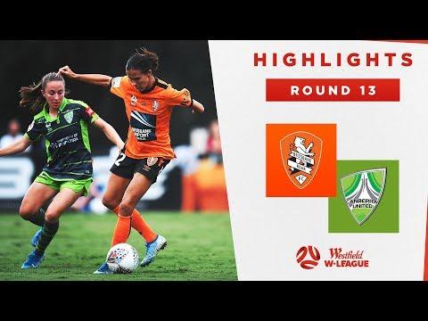 Highlights: Brisbane Roar FC v Canberra United – Round 13 Westfield W-League 2019/20 Season
