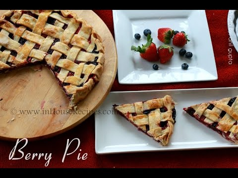 Berry Pie - Crust to Pie whole recipe - Hindi - inHouseRecipes