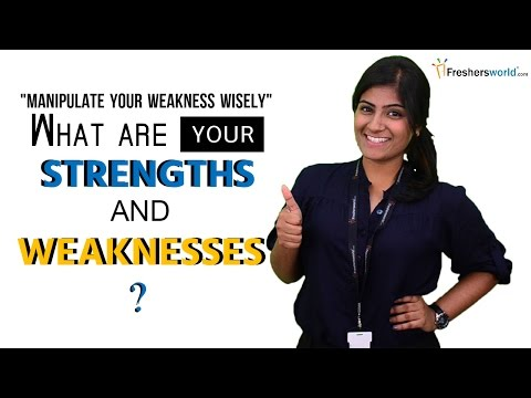What are your Strengths and Weaknesses? | interview questions & Answers
