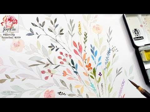 Learn to paint for beginners (Simple and Relaxing)