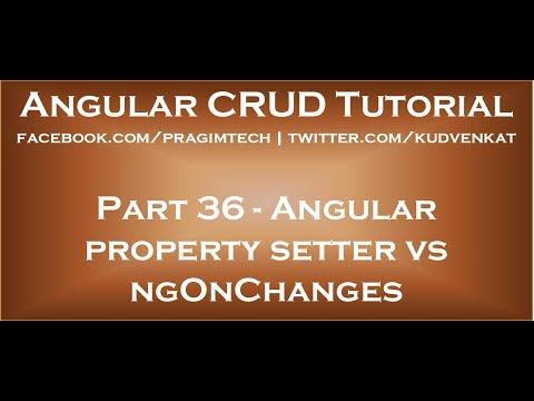 Angular property setter vs ngonchanges
