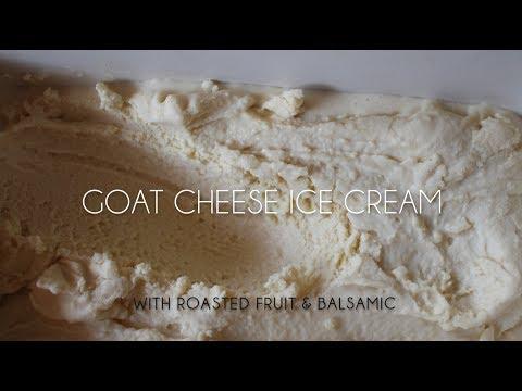 Goat Cheese Ice Cream