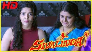 Download Shivalinga Full Comedy Scenes   Urvashi Comedy Scenes   Lawrence Comedy   Vadivelu Comedy Scenes Video