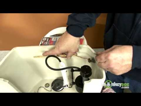 Toilet Repair - Replacing the Flush Lever and Flapper