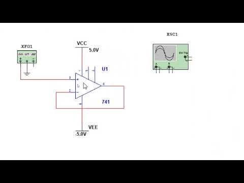 Op-Amp | Buffer Circuit Simulation In Multisim