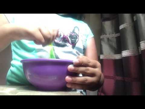 How to make Slime with toothpaste and Baking soda