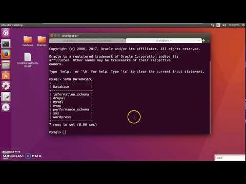 How to Delete Database in MySql - Terminal