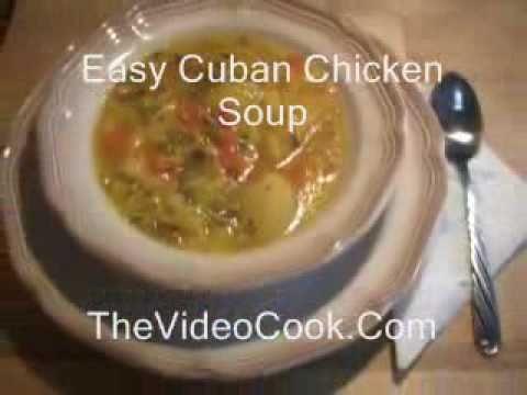 Easy Cuban Chicken Soup