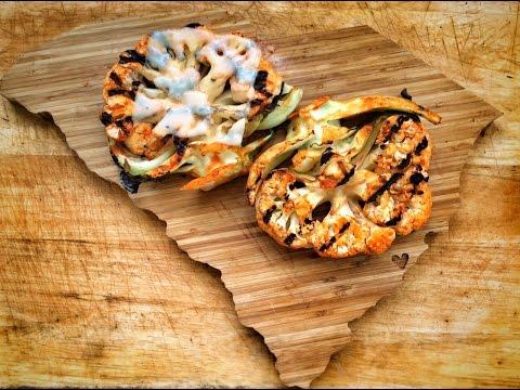 Cauliflower Steaks with Nikki Dinki | Barbecue Tricks