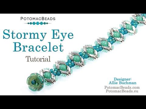 Stormy Eye Bracelet (tutorial)