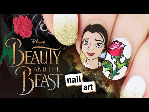 ♫ Beauty & The Beast Nail Art ♫ | Nailed It NZ
