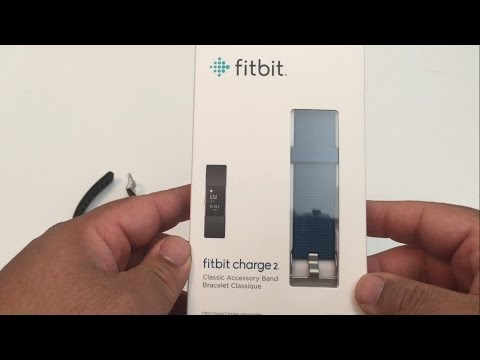 How to Change the Accessory Band on a Fitbit Charge 2 -  Fitbit Charge 2 Accessory Must Have