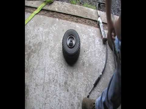 How to seat small Tubless Tires - NOT lighter fluid method