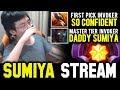 SUMIYA Invoker First TBD Game Of Main Account Sumiya Stream Moment 611