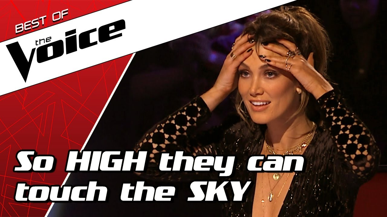 TOP 10 | Stunning HIGH NOTES in The Voice that are out of this world! #1