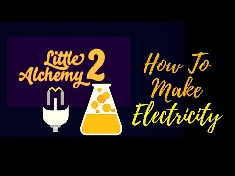Little Alchemy 2-How To Make Electricity Cheats & Hints