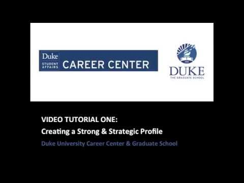 How to Create a Strong LinkedIn Profile (for Duke Graduate Students)