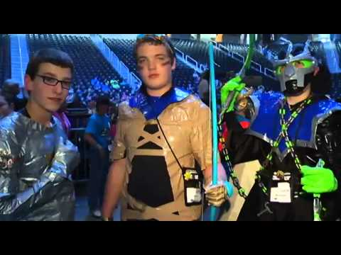 3M Duct Tape Costume Ball at Global Finals 2013